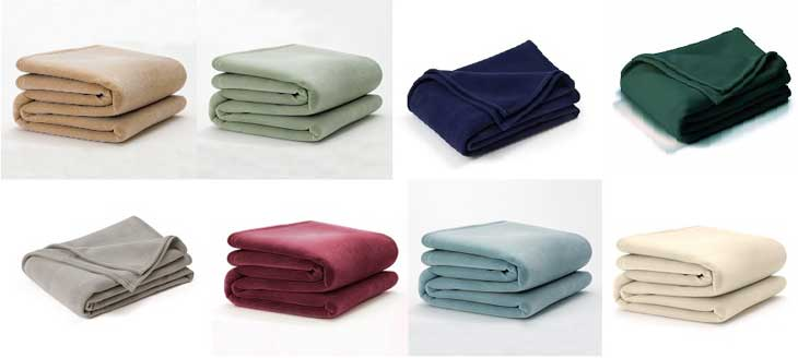 Vellux Original and Plush Blankets