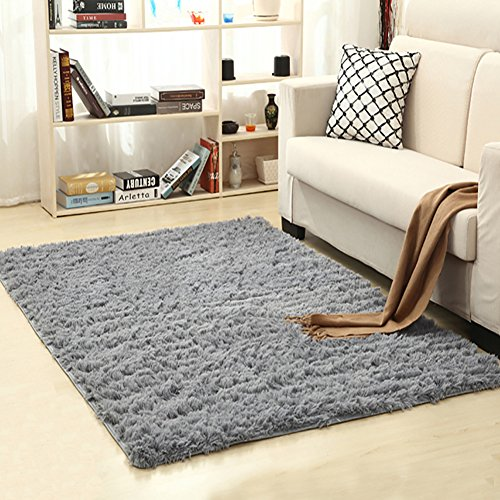LOCHAS Soft Indoor Modern Area Rugs Fluffy Living Room Carpets Suitable For  Children Bedroom Decor Nursery Rugs