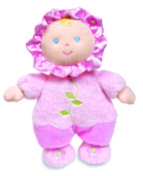 Flower Rattle Doll